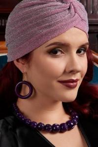 Splendette Fakelite Hoop Earrings 333 60 19927 11082016 model