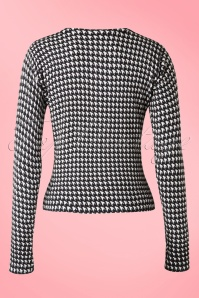 Banned Nightscape Houndstooth Cardigan 140 14 16450 20150804 0003W