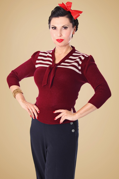 SugarShock Darcey Jumper in Red 113 20 19425 20161107 0014