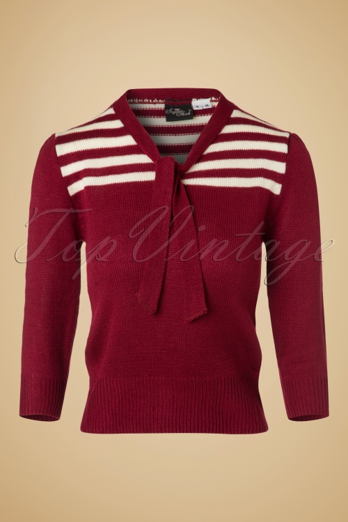 SugarShock Darcey Jumper in Red 113 20 19425 20161107 0004w