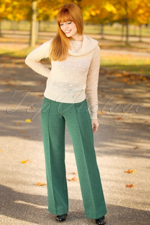 Wow To Go! Rolmops Trousers Dark Green 131 40 18548 20161004 0010 modelfotoW