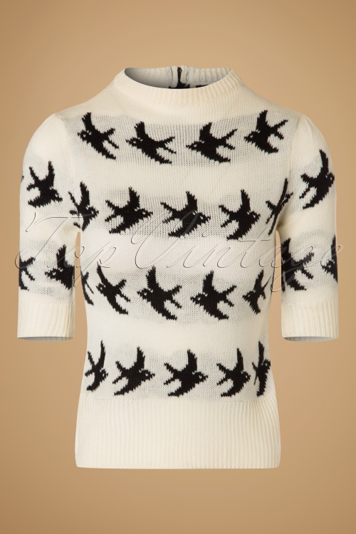 SugarShock Birdy Jumper in Creme 113 57 19428 20161109 0002w