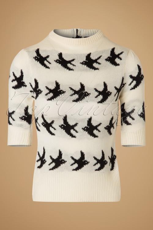 SugarShock Birdy Jumper in Creme 113 57 19428 20161109 0002w