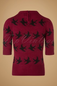 SugarShock Birdy Jumper in Red 113 27 19429 20161109 0002w