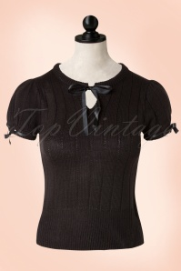 40s Loraine Jumper in Black
