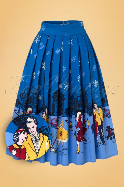 Dancing Days by Banned Romance Winter in Paris Skirt 122 39 19789 20161110 0003W1