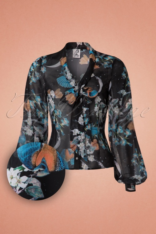 Bunny Starry Night Blouse 112 14 19573 20161103 0003w1