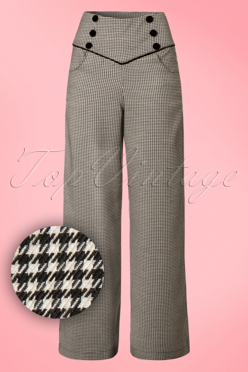 Dancing Days by Banned Swept off houndstooth pants 131 14 19713 20161110 0005W1